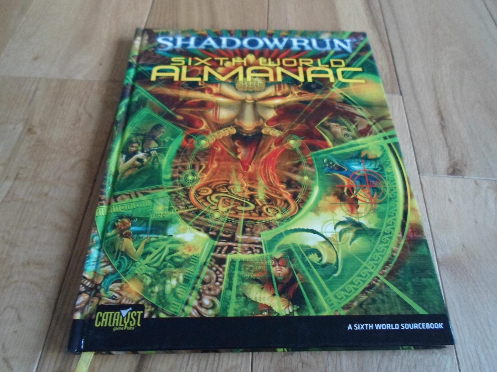 RARE Shadowrun Roleplaying Game  Sixth Sixth Sixth World Almanac (MINT NEW) 6e7616