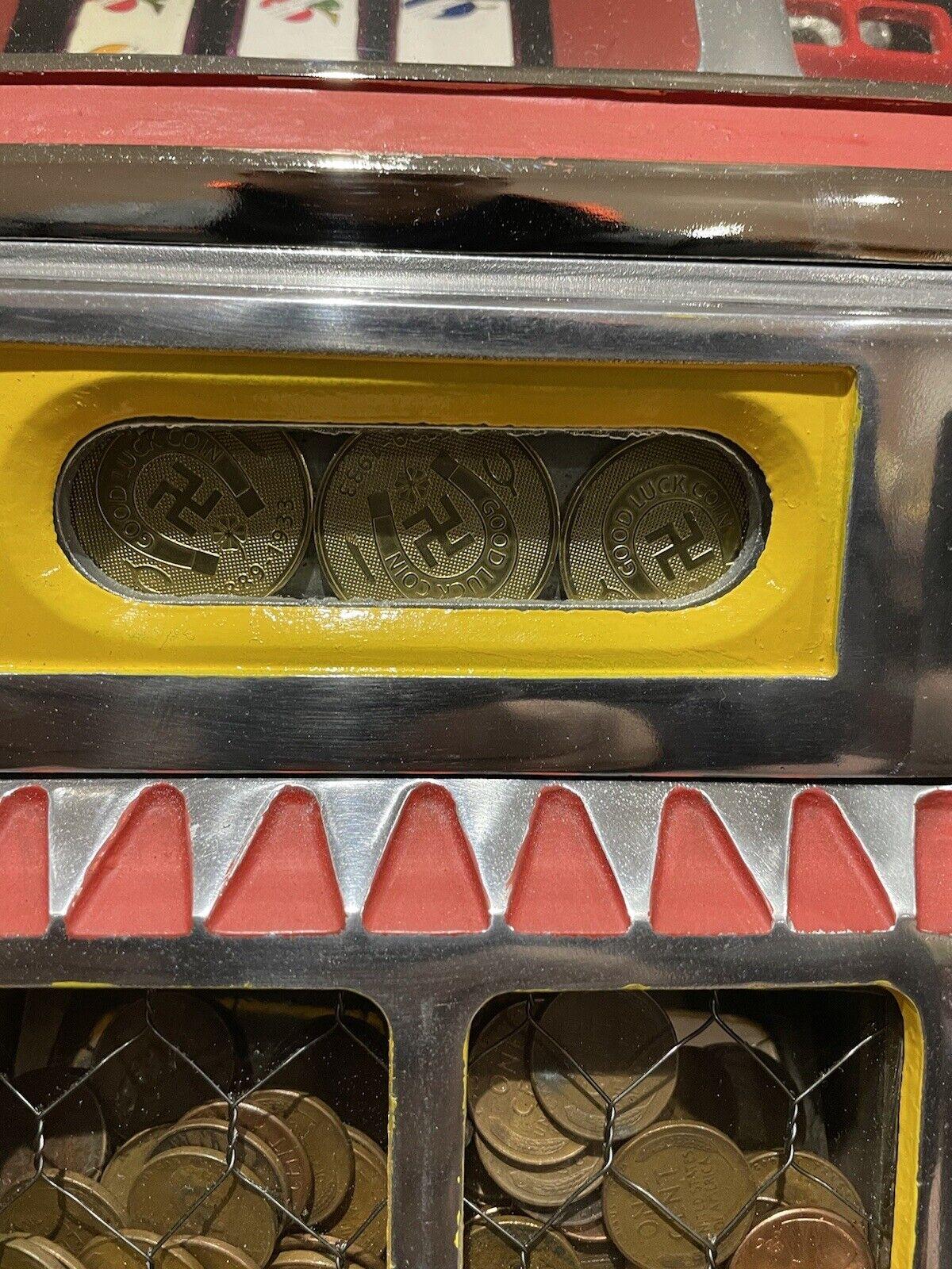 Watling Slot Machine Gold Award Tokens