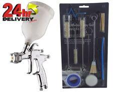 Devilbiss Flg 5 18 Gravity Spray Paint Gun 18mm Tip 17 Piece Cleaning Kit