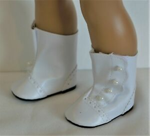 18 inch Girl Doll Clothes Shoes Victorian Boots Samantha American seller NEW