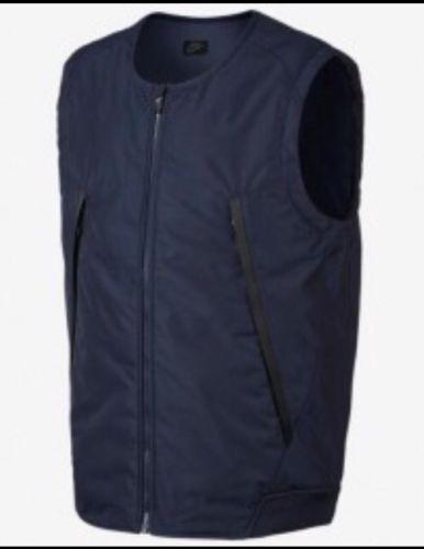 5ac4f9efa70e Nike Sportwear Modern Men s Vest Down Fill Navy Small 806834 451 for ...