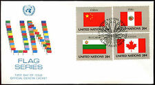United Nations 1983 Flags Series FDC First Day Cover #C36032