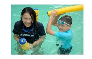 2pk EYELINE SWIM LOGS Inflatable Noodles Toy SWIM Aerobic Pool FLOAT EYISLS