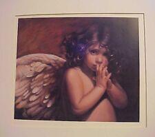 "Nancy Noel Art Angel Print - Whisper -  9"" x 8"""