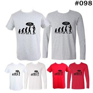 Stop-Following-Me-Funny-Design-Men-s-Boy-039-s-T-Shirt-Long-short-Graphic-Tee-Tops