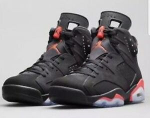 cheap for discount 2d5a6 a4619 Image is loading Nike-Mens-Air-Jordan-6-Retro-034-Infrared-