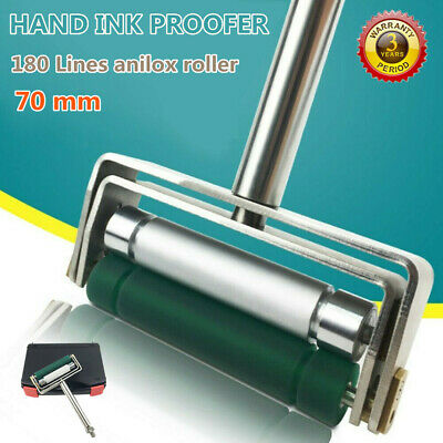 180 LPI Portable Hand Ink Proofer for Gravure Flexographic and Coating 2.75 INCH