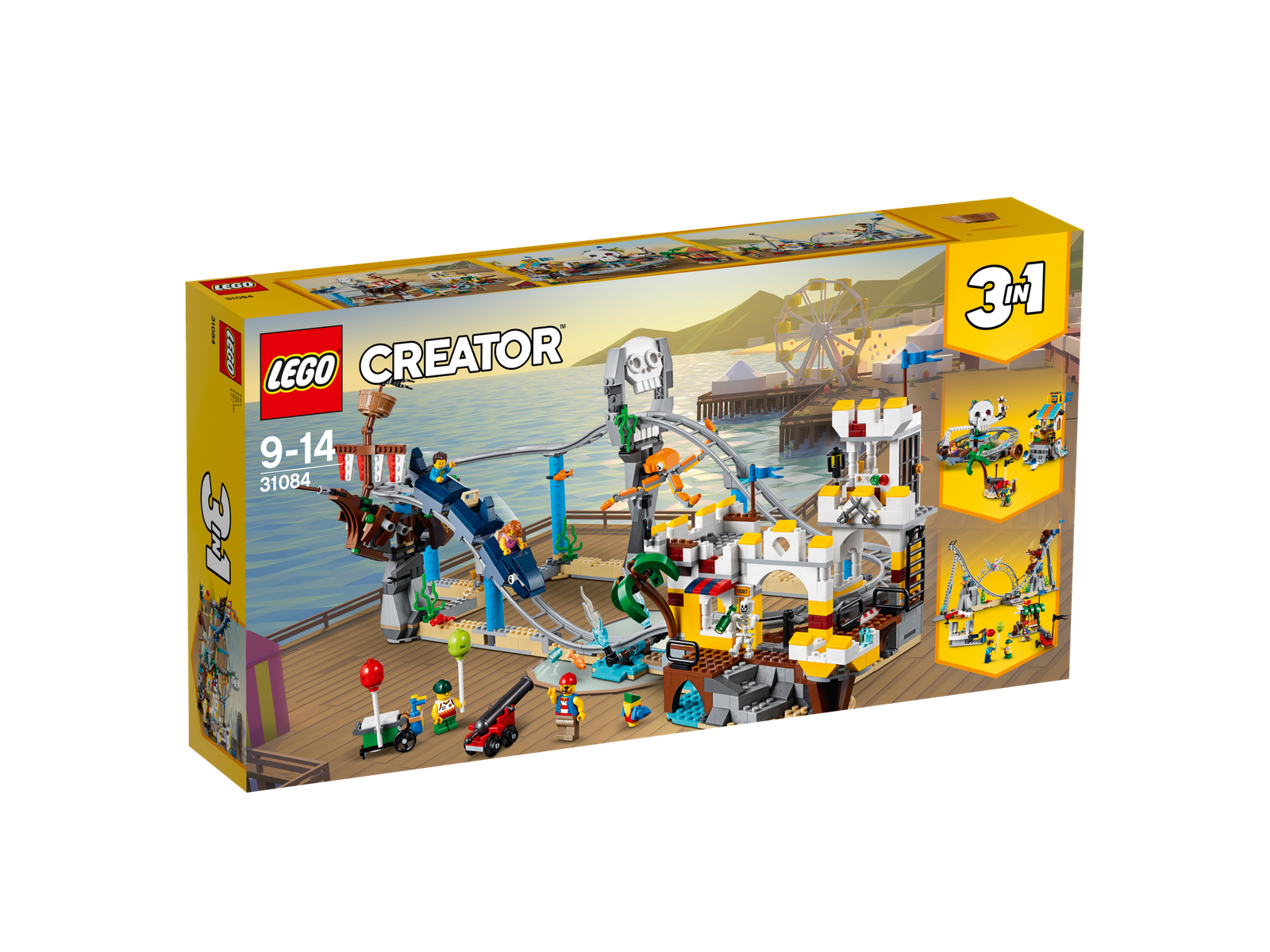 LEGO ® Creator 31084-pirati sulle montagne russe NUOVO OVP _ Pirate Roller Coaster NEW MISB