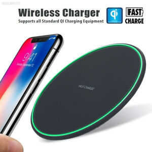 A108-10W-Qi-Fast-Wireless-Charger-Pad-Charge-Mat-For-iPhone-Xs-Max-X-Samsung-S9
