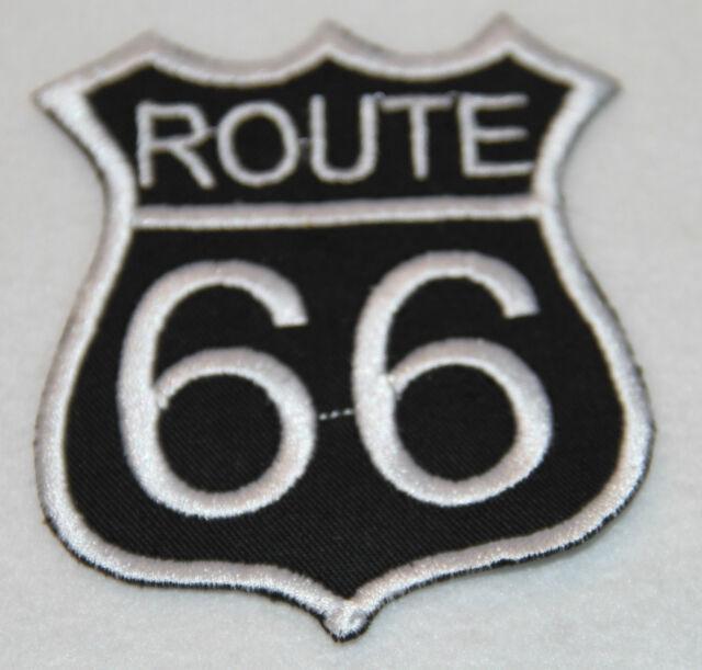 Route 66 Aufnäher Motorrad 9 Varianten Biker Patch NEU