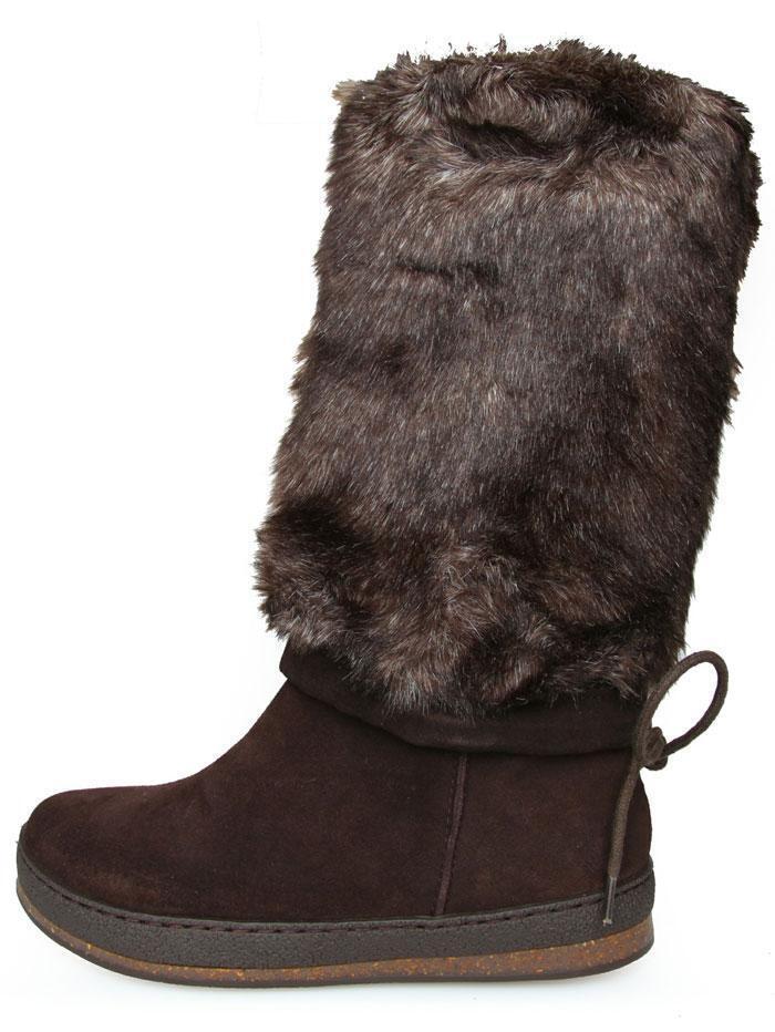 Scholl junio f241011019 señora botas wintersteifel talla 39 41 42 marrón oscuro