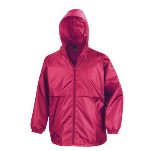 Result Water Resistant Windproof Windcheater Hooded Jacket Coat Concealed Hood