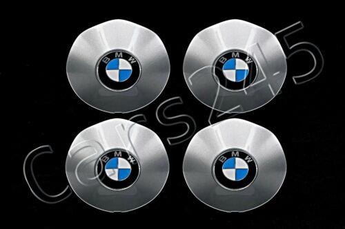 Genuine LA Wheel Center Hub Caps SET 4pcs BMW 6-Series E63 E64 2004-2010