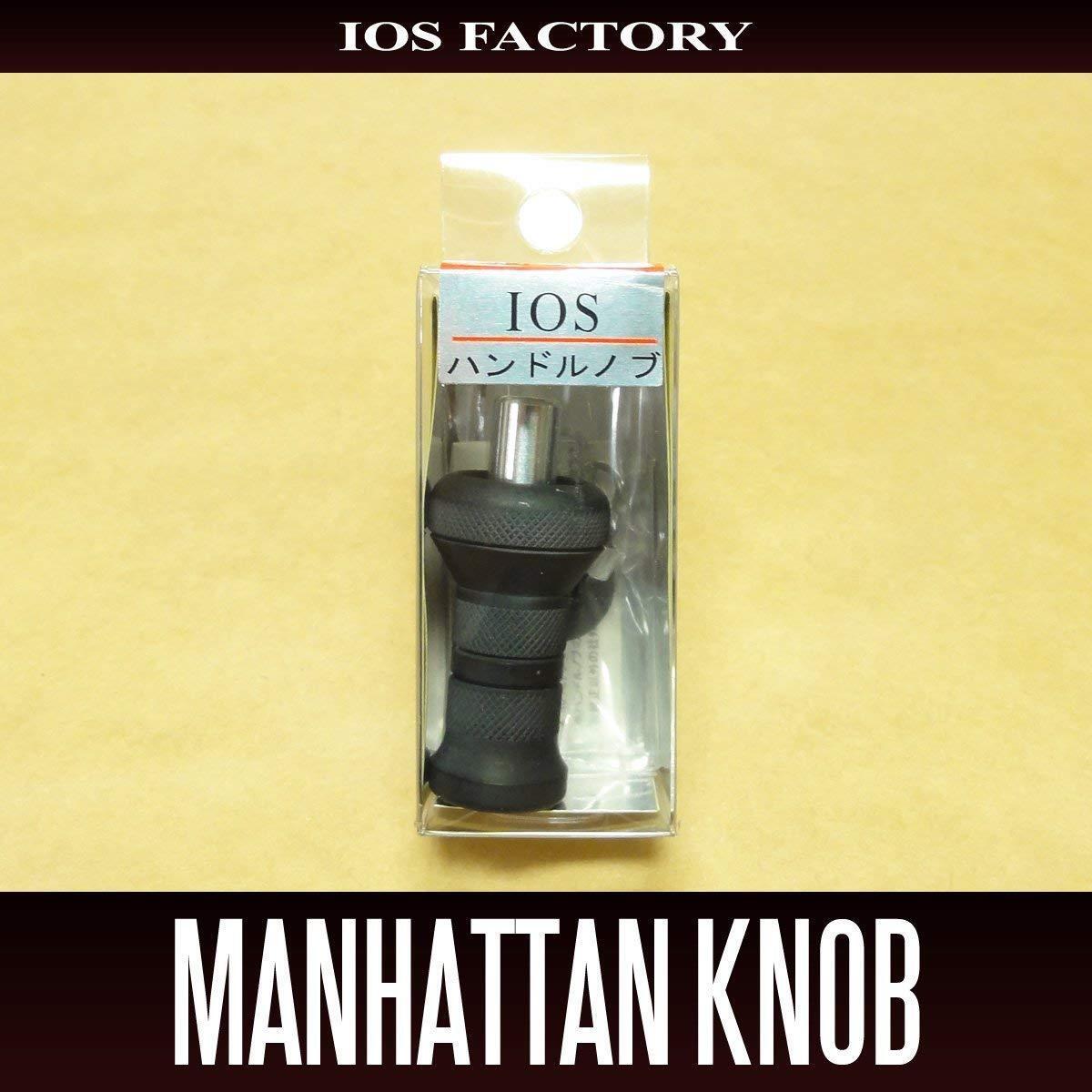 Pomo Manija Manhattan del IOS de fábrica Negro Mate