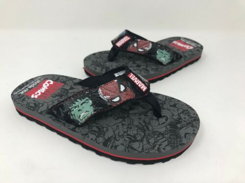 Toddlers Stride Rite Marvel Heroes Open Toe Synthetic Thong Sandal C10 *New