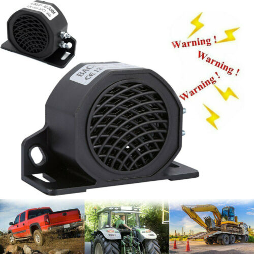 107dB Beeper Back-Up Warning Alarm Horn For Car Truck Heavy Vehicle Forklift