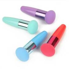 Makeup Foundation Sponge Blending Puff Powder Smooth Handle Brush Popular