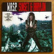 """Wasp - Sunset & Babylon 7"""" Vinyl In Poster Sleeve"""
