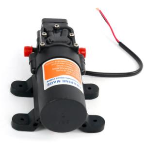 12v 4.3L//min 1.1 GPM 35 PSI Water Pressure Diaphragm Pump for Caravan//rv//boat US