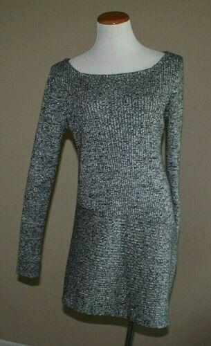 Black House Market White Sweater Tunic Size BLACK