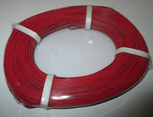 (0,279 €/m) Jumelle Lacet Rouge/marron 50 M Neuf êTre Reconnu à La Fois Chez Soi Et à L'éTranger Pour Sa Finition Exceptionnelle, Son Tricot Habile Et Son Design éLéGant