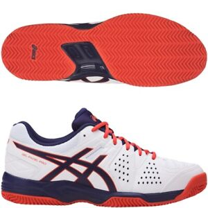 Details about Asics Gel Padel Pro 3 SG White / Astral Aura / Cherry Tomato Tennis Trainers