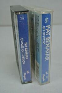 2)  PAT BENATAR Cassette Tapes