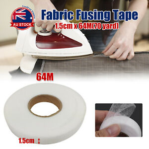 64M Fabric Fusing Tape Adhesive Hem Tape Iron-on Tape Hemming Tape 15mm Wide O