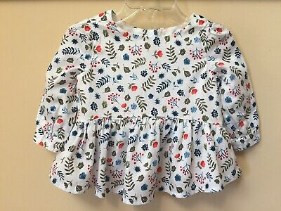 NWT Girls Gymboree Tide Pool beach ivory tank top shirt ~ 6 12 18 months