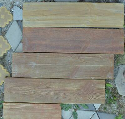 Concrete Moulds Board Old Wooden Garden Stepping Stone Path Patio SET 4pcs S10-2