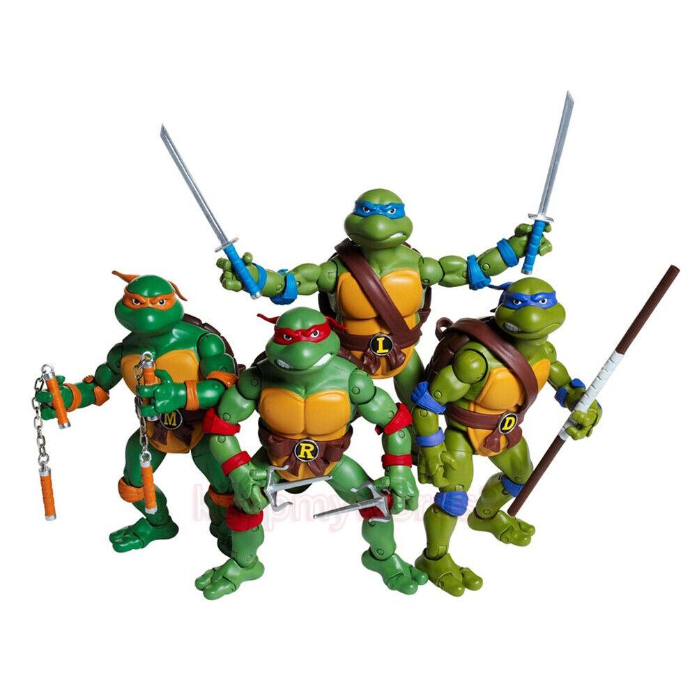 Playmates Toys Nickelodeon Tortugas Ninjas Adolescentes Mutantes TMNT 6  Figuras De Acción