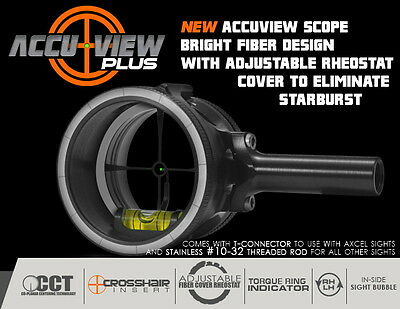 Axcel X-31 Scope 31mm Yoke Connection System Black
