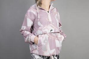 Detalles de Nike Sportswear chaqueta rosa mujer 908766-694 corre chaqueta  Training capucha nuevo s- ver título original