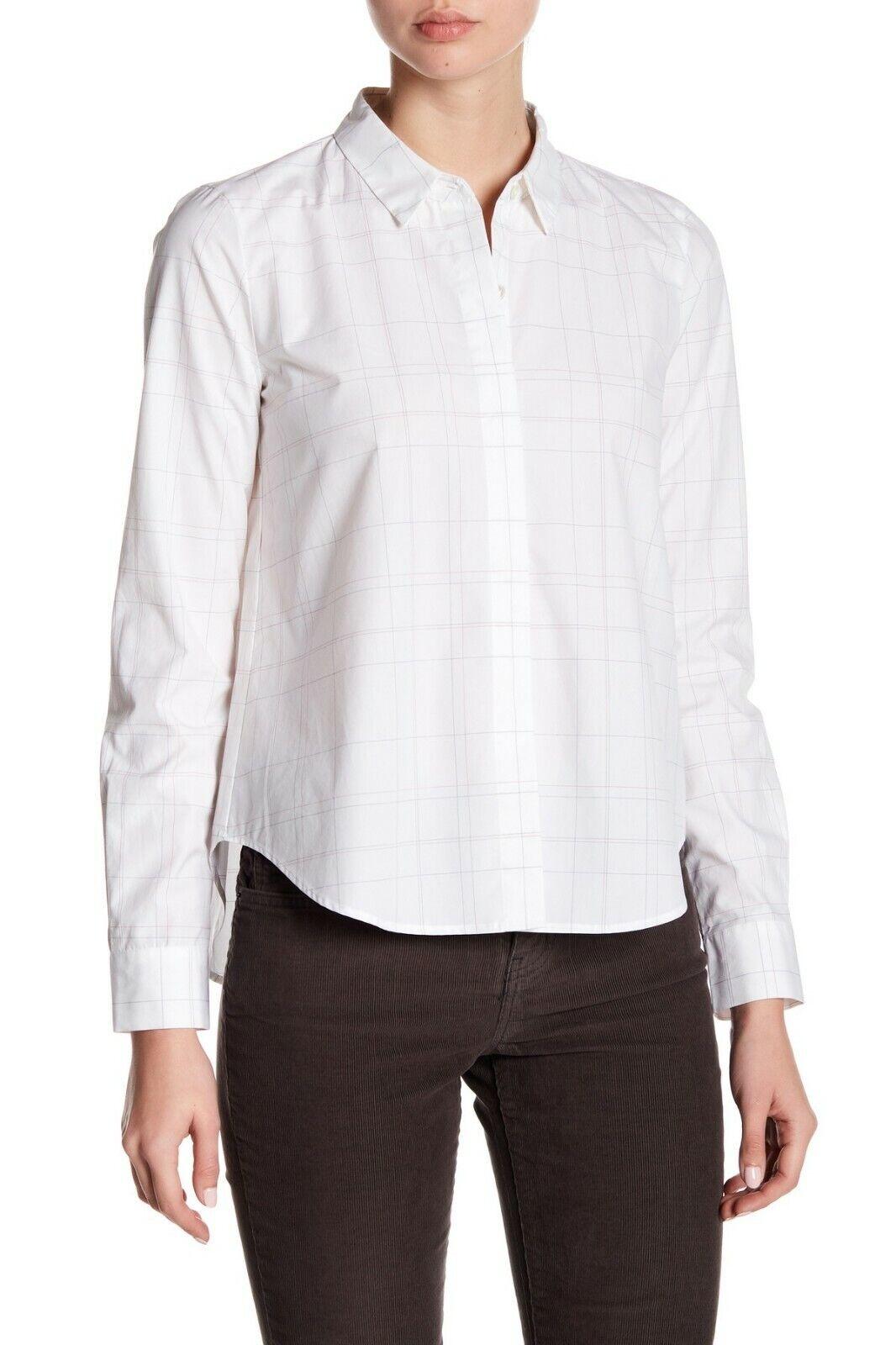 Theory para Mujer Camisa Manga Larga doscia blancoo  11927 Talla S  de moda