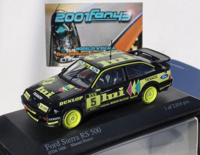 FORD SIERRA RS 500 #5 REUTER LUI DTM 1988 1/43 MINICHAMPS 430888005