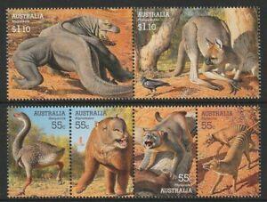 2008-Australia-Decimal-Stamps-Mega-Fauna-MNH-Set-of-6