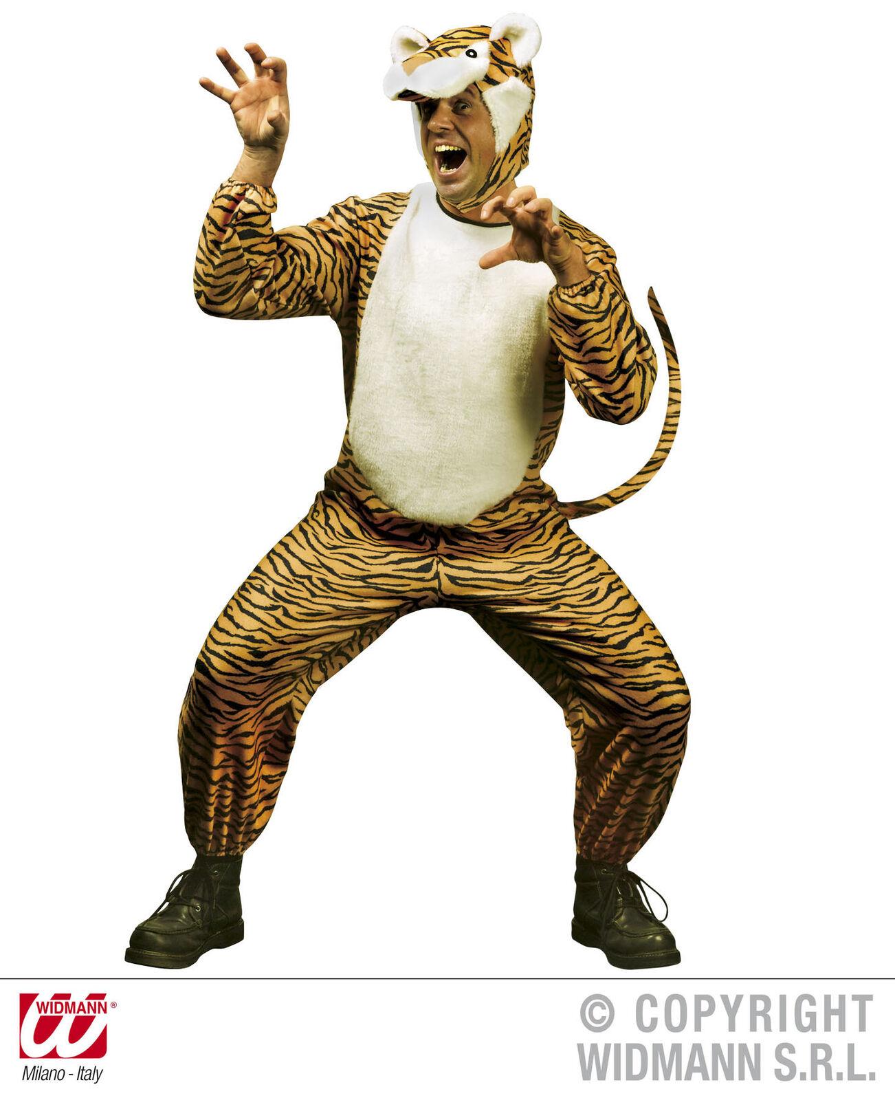 Kostüm Kostüm Kostüm Tiger - Tigerkostüm Gr. L  - Tigerkleid Tigerverkleidung Tiger Mann 7a9e82