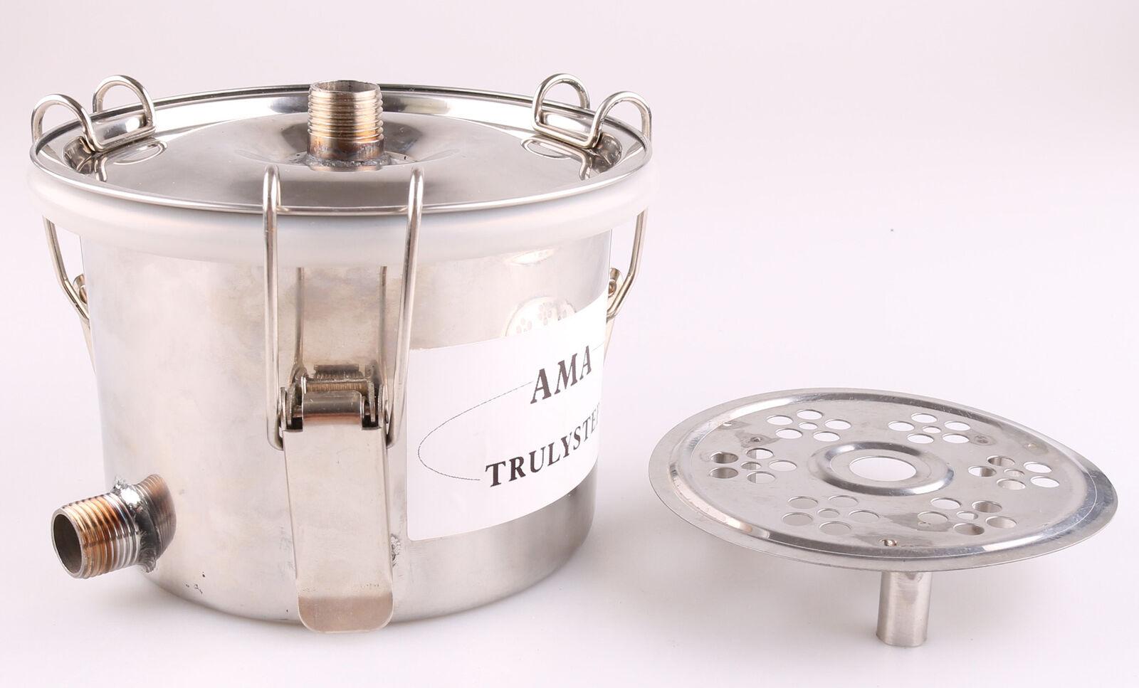 Pièces pour 3 pots DISTILLERIE Destillieranlage  milieu obsttopf à épices