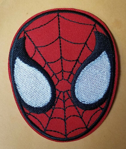 Spider-man Head Logo Costume Patch 4 inches tall