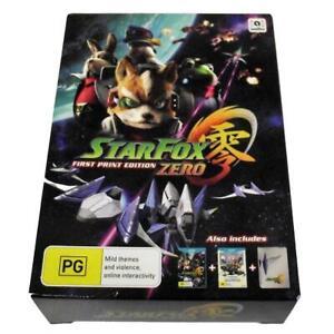 Starfox-Zero-Nintendo-Wii-U-PAL-First-Print-Edition-Steelbook