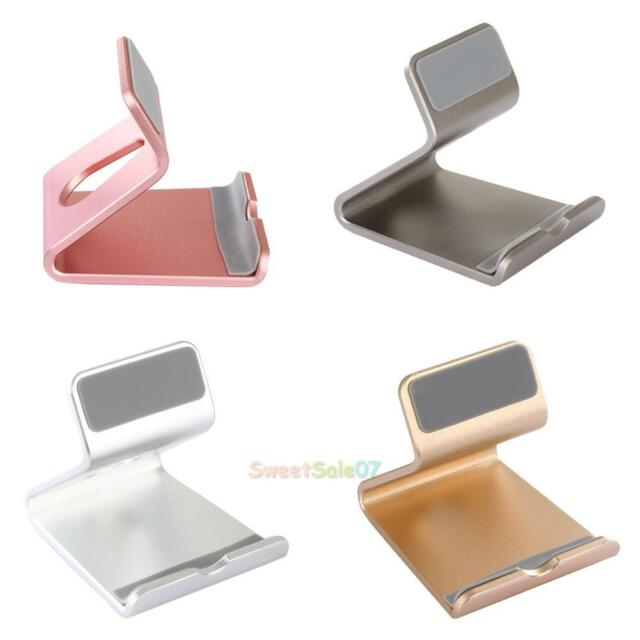 Aluminium Alloy Desk Table Desktop Stand Holder For All Cell Phone Tablet