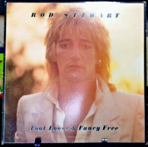 ROD STEWART Foot Loose & Fancy Free Album Released 1977 Vinyl/Record  Collection