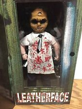 """Living Dead Dolls TEXAS CHAINSAW MASSACRE 12"""" LEATHERFACE Doll by Mezco"""
