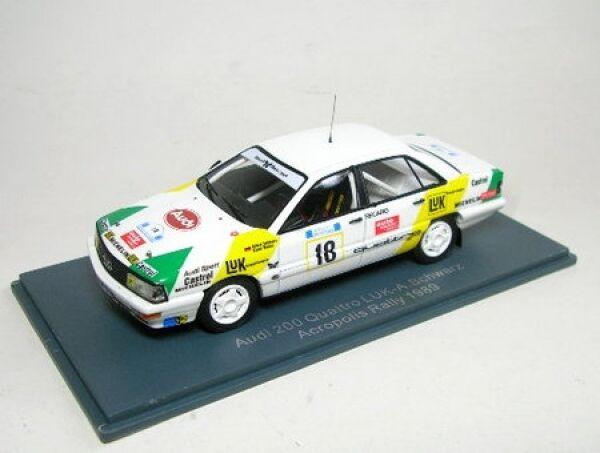 Audi 200 gr2 No. 18 Rally  Acropolis 1989  40% de réduction