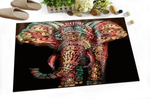 72x72/'/' Mandala Elephant Shower Curtain Sets 12 Hooks Bathroom Waterproof Fabric