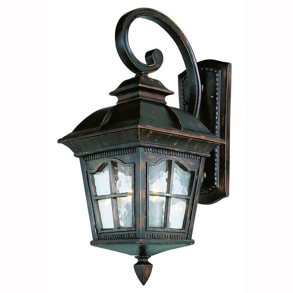 Trans Globe Lighting 5420 ar Briarwood 25.5  Parojo Linterna al aire libre, óxido antiguo