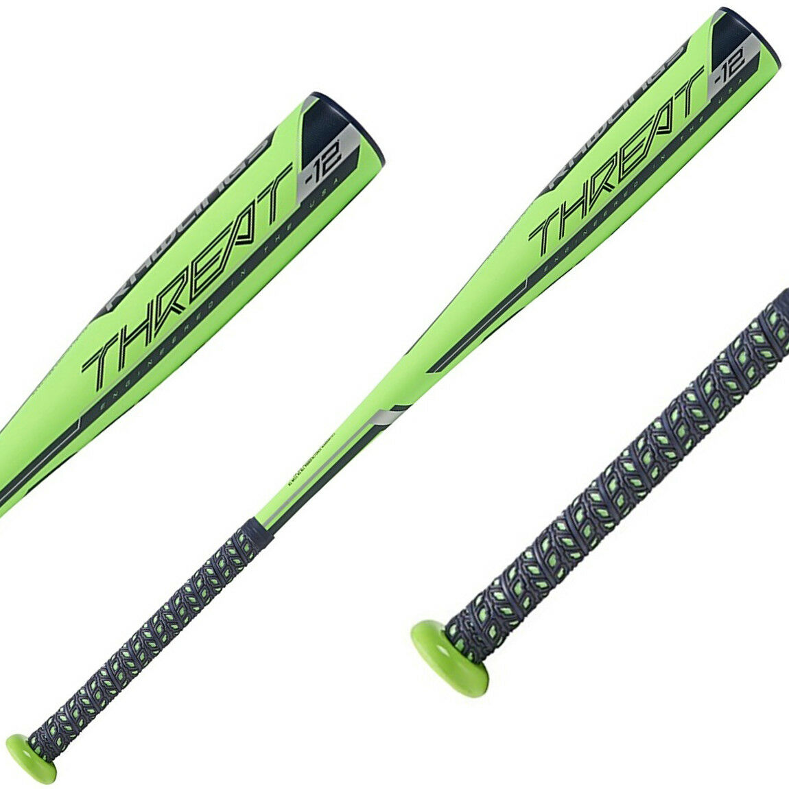 Rawlings Threat -12 USA Composite Baseball Bat (NEW) Lists @