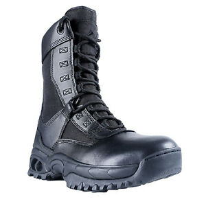 Ridge-Footwear-8010ST-Men-039-s-Air-Tac-Ghost-Zipper-Steel-Toe-Tactical-Boots