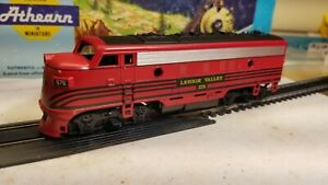 Athearn-Lehigh-Valley-F7-A-non-powered-dummy-locomotive-train-engine-HO