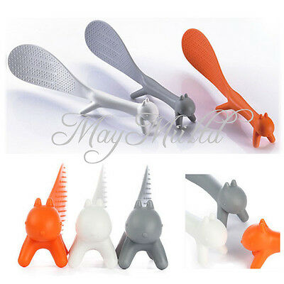 1pc Kitchen Squirrel Shape Rice Paddle Scoop Spoon Ladle Novelty Hot Sales J